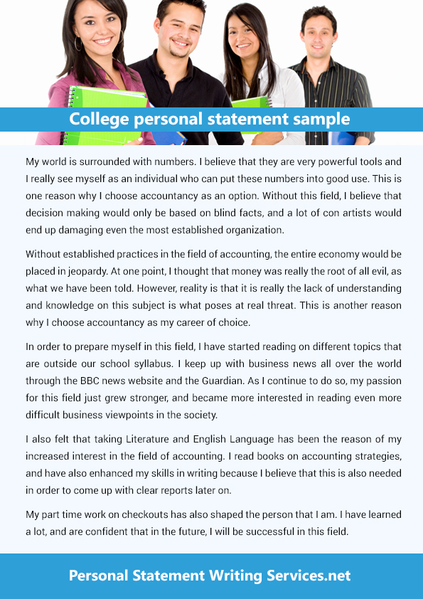 High rate personal statement writer