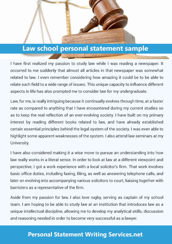 help writing law school personal statement Our personal statement writing service is here to help you out unlike with a high school essay or college research paper, students are not given a second chance when it comes to submitting a personal statement for graduate school.