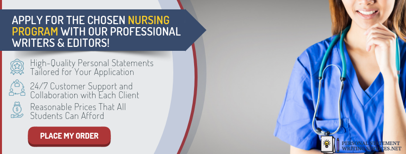 how to write a personal statement for nursing school