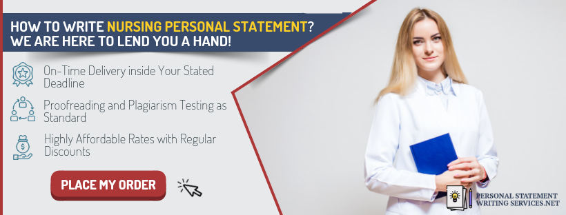 personal statement nursing banner