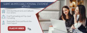 quality personal statement for internship example