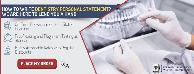 writing a winning dental personal statement